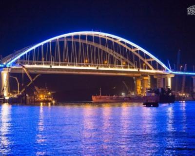Крымский мост с высоты птичьего полёта (ВИДЕО)