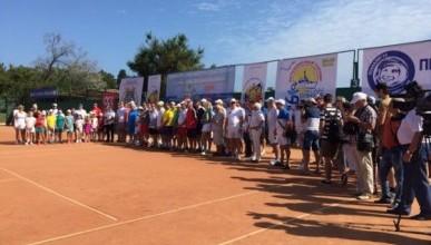 В Севастополе начался теннисный турнир «Большая Бескозырка – 2018»