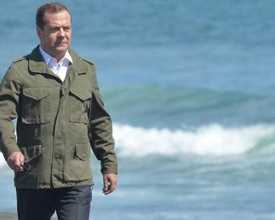 Россиянин продаёт песок, по которому ходил Дмитрий Медведев (ФОТО)