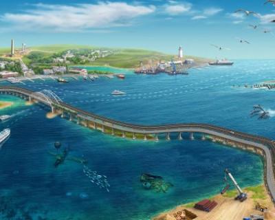 Крымский мост сам не знает, но защищает даже рыб