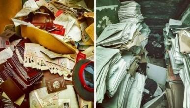 В Москве обнаружены тысячи бесхозных паспортов россиян и уголовных дел (ФОТО)