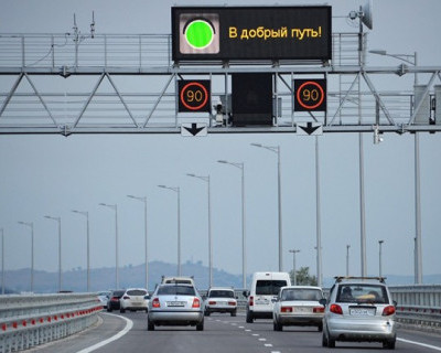В конце августа движение по Крымскому мосту будут ограничивать (ДАТЫ и ВРЕМЯ)
