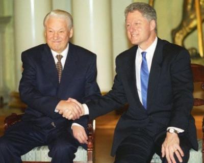 Опубликованы расшифровки бесед Ельцина и Клинтона о Путине