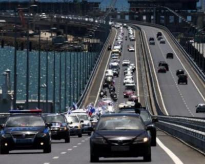 Всё о Крымском мосте: нарушения ПДД, аварии, эвакуация авто...