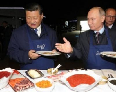 Путин приготовил блины