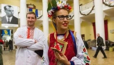Жители Украины предлагают обменять Собчак на Сенцова