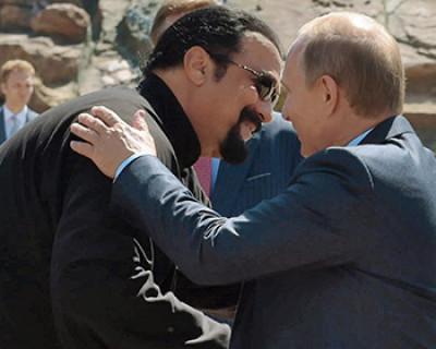 Американский актёр Стивен Сигал может стать губернатором в России