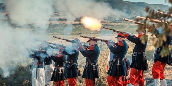 Военно-исторический фестиваль «Альминское дело» в Севастополе