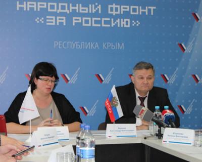 ОНФ в Крыму взял на контроль программу капитального ремонта