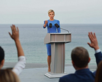 Захарова зовёт зарубежных дипломатов в Крым
