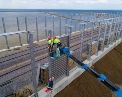 Стало известно, как защитят железную дорогу к Крымскому мосту