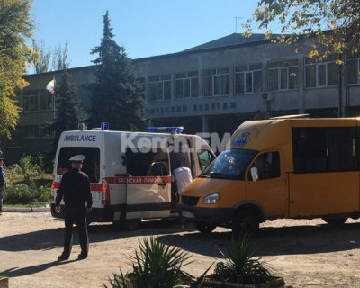 Появилось видео от очевидца взрыва в Керчи (ВИДЕО)