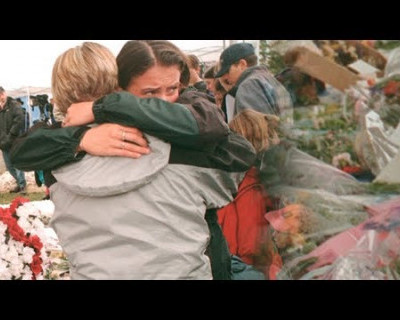 Жуткое видео из здания колледжа во время массового убийства в Керчи