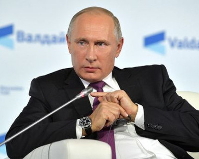 Владимир Путин не удержался и рассказал анекдот