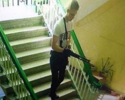 Видео, как Росляков готовился к расстрелу детей в Керчи