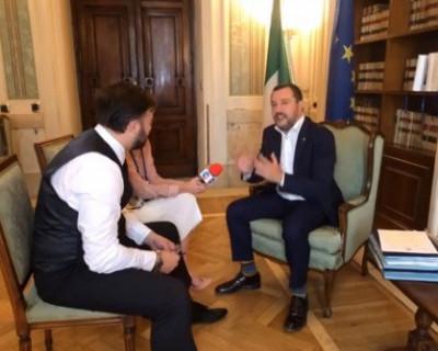 Министр внутренних дел Италии Маттео Сальвини - итальянский друг Крыма и Севастополя (ВИДЕО)