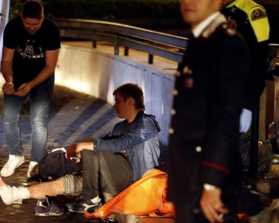 Видео обрушения эскалатора метро в центре Рима (ВИДЕО)