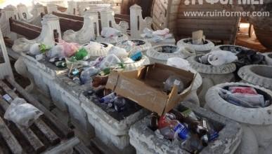 Фоторепортаж: парк Победы «утопает» в мусоре
