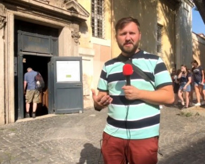 Специальный корреспондент «ИНФОРМЕРа» соединяет Рим и Крым (Эксклюзивное ВИДЕО)