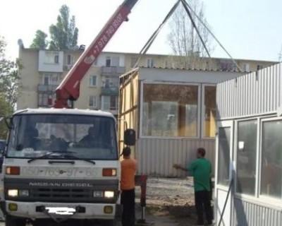 Симферополь «очищают» от торговых точек