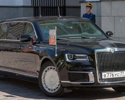 Владимир Путин познакомил Европу со своим лимузином (ВИДЕО)