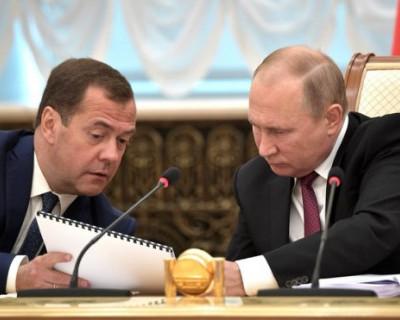 Владимир Путин поручил Дмитрию Медведеву узнать, что «там происходит в реальной жизни»