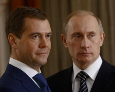 Как Путин и Медведев управляют Россией на расстоянии