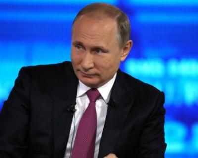 СМИ узнали примерную дату Большой пресс-конференции Владимира Путина