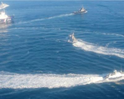 СРОЧНО! Военные корабли Украины нарушили границу России в Черном море (ФОТО)