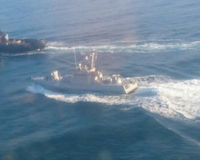 Керченский пролив временно закрыт для движения гражданских судов