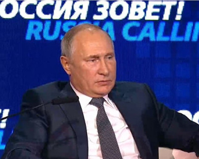 Путин пошутил про доллар