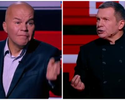 Российский ведущий Владимир Соловьев выразил сожаление, что не дал задушить украинского политолога Ковтуна