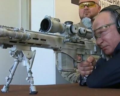 Американцы в восторге от  винтовки Путина (ФОТО)