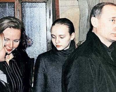 Предполагаемую дочь Владимира Путина показали на ТВ (ВИДЕО)