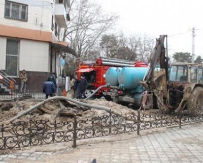 Авария в Симферополе лишила жизни одного человека и сотни тысяч человек оставила без воды