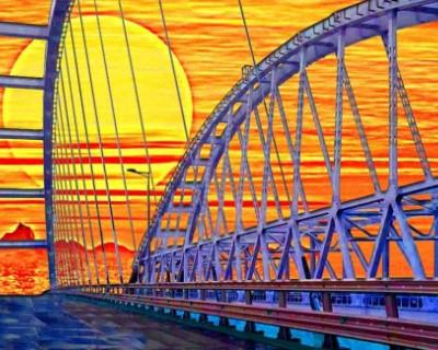 На Украине надеются на уничтожение Крымского моста инопланетянами