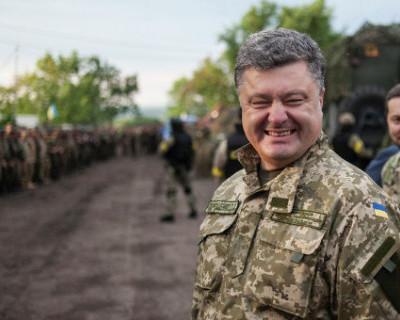 Порошенко в телевизоре объявил войну России