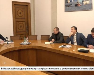 Чиновники украинского города не знают, как снести памятник Ленину