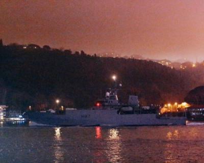 Первое военное судно НАТО вошло в Чёрное море