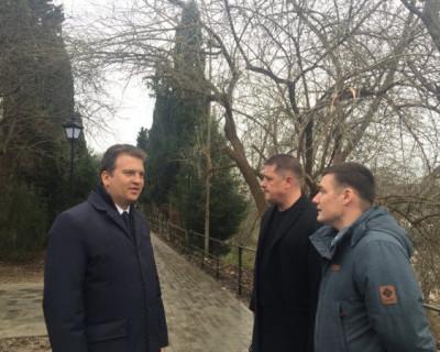 Севастополь встретит 2019 год с двумя новыми скверами
