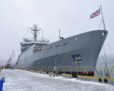 В Киеве предложили отправить в Керченский пролив британский корабль