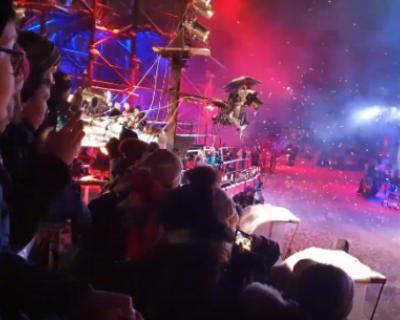 Новогодняя сказочная история от «Ночных Волков»