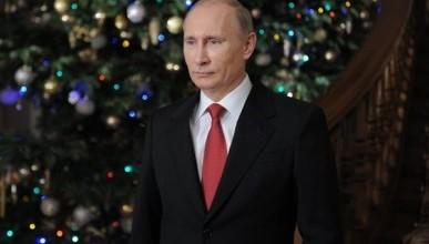 Путин поздравил зарубежных партнёров с Новым годом!