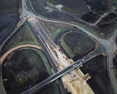 Федеральная трасса «Таврида» с высоты птичьего полета (ВИДЕО)