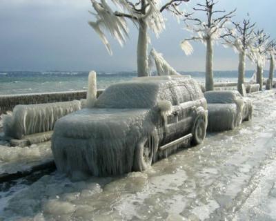 Ледяной ад на дорогах Крыма