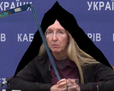 «Похоронный министр» Украины оскорбила Путина