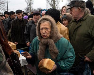 Реальная пенсия на Украине сократилась в два раза