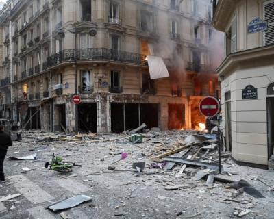 Страшные фото мощного взрыва в Париже (ФОТО)