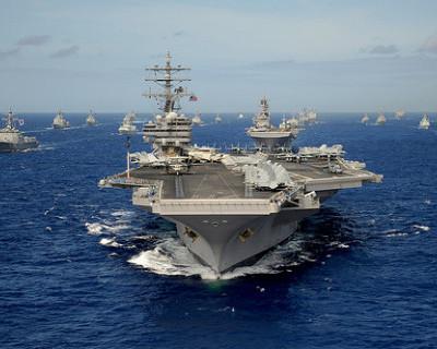 Российский военный корабль вежливо сорвал учения флота США