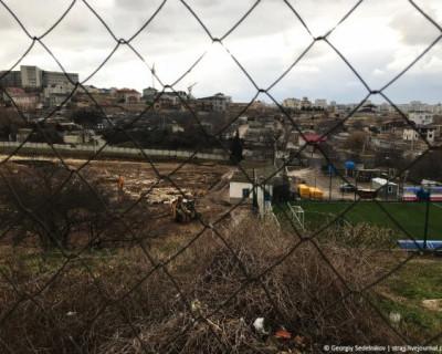 В Севастополе реконструируют стадион «Маракана» (ФОТО)